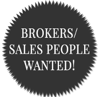 Brokers/Sales People Wanted!